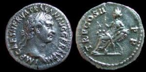 Nerva's coinage - Spreading the message.
